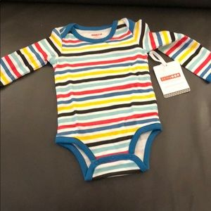 Skip hop striped onesie 6M
